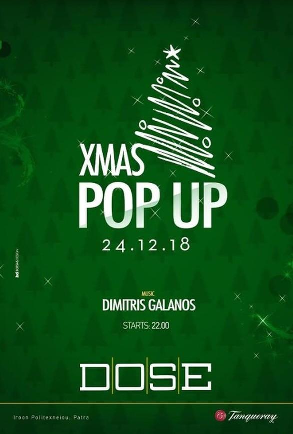 """Την παραμονή των Χριστουγέννων δίνουμε ραντεβού στο """"Xmas Pop Up"""" του Dose!"""