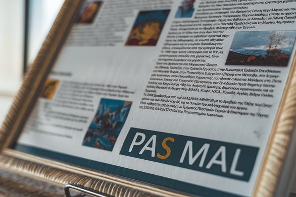 Έκθεση Ζωγραφικής στο Pas Mal 20-12-18