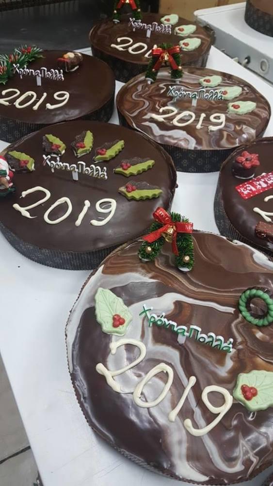 """Υποδεχόμαστε το 2019 με λαχταριστές βασιλόπιτες από το αρτοποιείο """"Παύλος & Ξερό Ψωμί""""!"""
