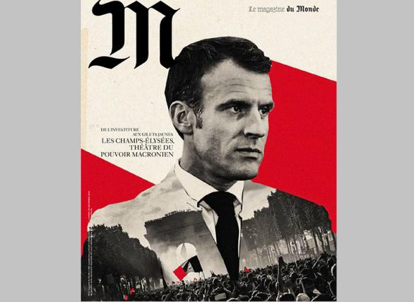 Η Le Monde έκανε τον Μακρόν... Χίτλερ