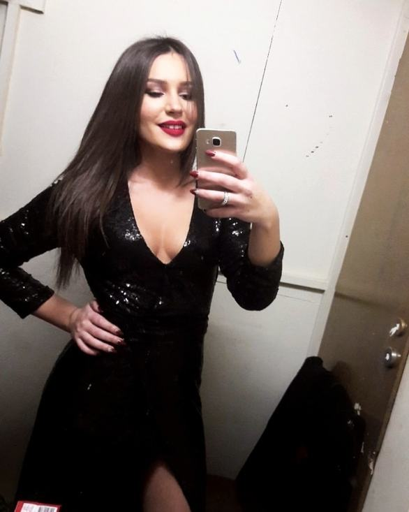H selfie της Μαρίας Μητρούλια με ευχές για το νέο έτος!