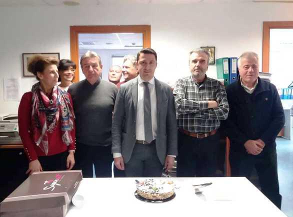 Δυτική Ελλάδα: Έκοψαν πίτα στην Διεύθυνση Οικονομικού Ελέγχου της Περιφέρειας (φωτο)