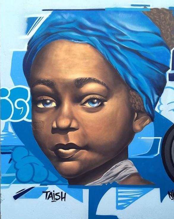 Ο Πατρινός street artist Taish είναι σε δημιουργική έμπνευση (pics)