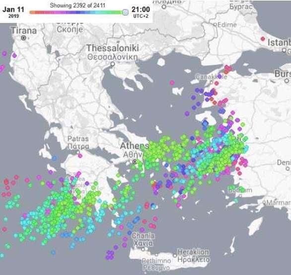 Δυτική Ελλάδα: Πρωτιά στα ύψη βροχής στη Ζαχάρω - Υψηλή θέση και για την Κάτω Βλασία