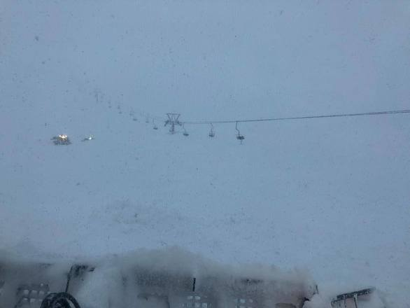 Αχαΐα: Κλειστό το Χιονοδρομικό Κέντρο Καλαβρύτων λόγω χιονοστιβάδας (φωτο)