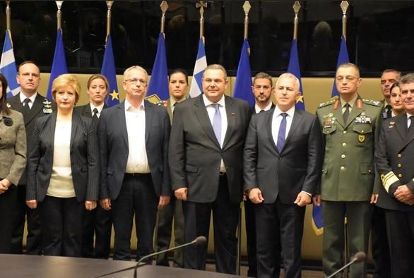 Διεξήχθη στο Υπουργείο Εθνικής Άμυνας η τελετή παράδοσης - παραλαβής (φωτο)