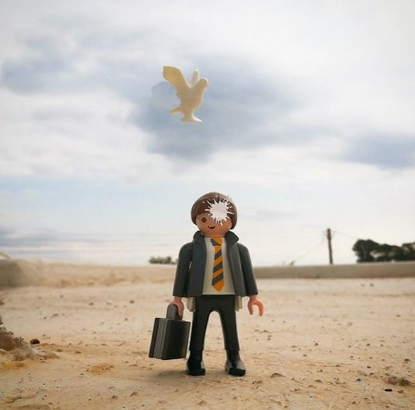 Κατερίνα Ξένου - Η toy photographer της Πάτρας που σκηνοθετεί Playmobils (pics)