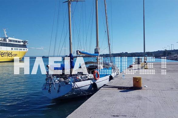 Στην Κυλλήνη 62 παράτυποι μετανάστες που εντοπίστηκαν σε σκάφος στην Καλογριά (pics)