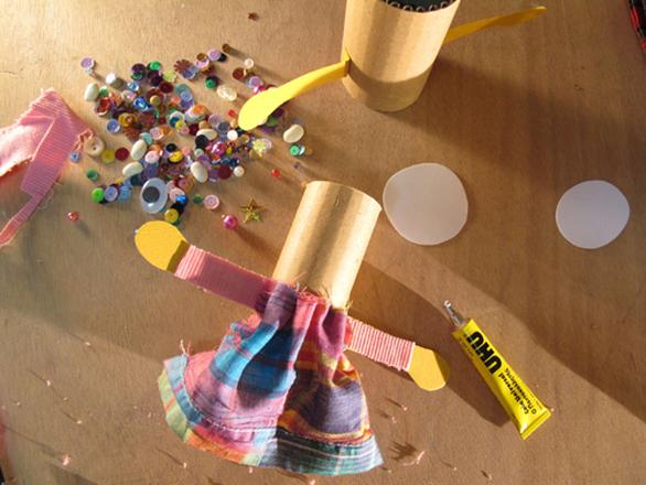 Εργαστήρι κατασκευής και εμψύχωσης κούκλας για παιδιά στο Parts - Patras Arts