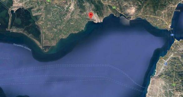 Ανοικτά του Κρυονερίου κατέπεσε το σκάφος, σύμφωνα με το Λιμενικό