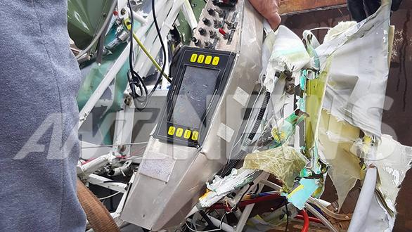 Μεσολόγγι - Συγκλονιστικές εικόνες από την ανέλκυση του μοιραίου αεροπλάνου (φωτο)