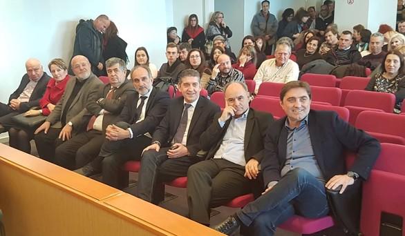 """Απ. Κατσιφάρας: """"Συνεχίζουμε σταθερά στο δρόμο της προόδου για τη Δυτική Ελλάδα"""" (pics)"""