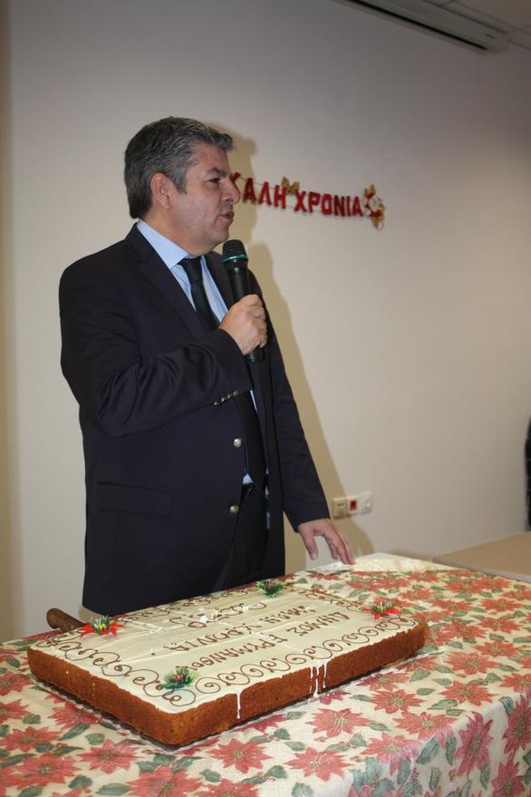 Έκοψαν πίτα στον Δήμο Ερυμάνθου (φωτο)