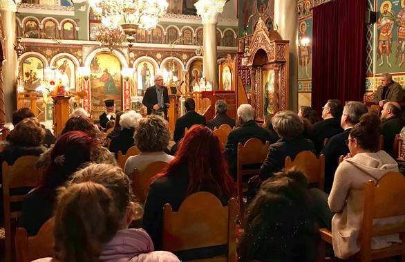 Αχαΐα: Ο Άγγελος Τσιγκρής μίλησε στο Χαϊκάλι για τη σχολική βία (pics)