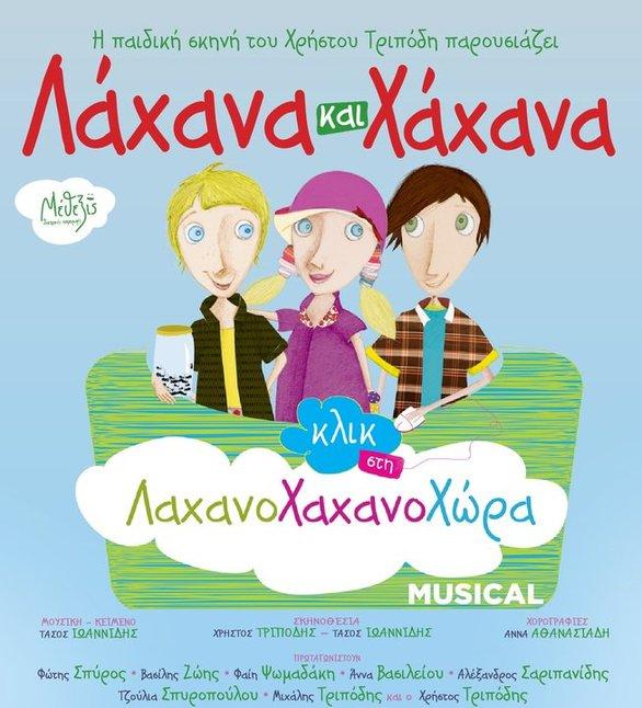 Διαγωνισμός: Το Patrasevents.gr σας στέλνει στην παιδική παράσταση «Λάχανα και Χάχανα Κλικ στη Λαχανοχαχανοχώρα»!