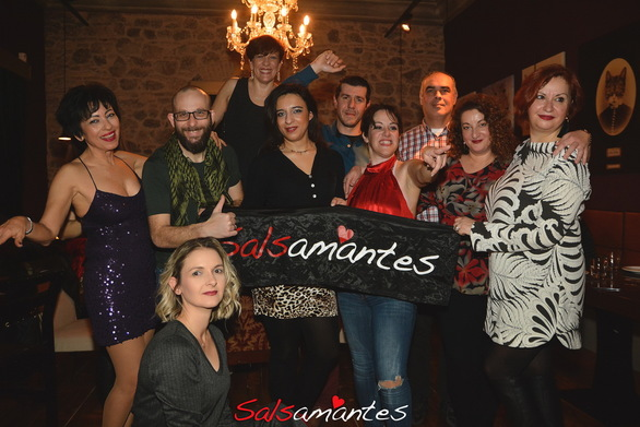 Κοπή πίτας by Salsamantes Team with Rosanna at Royal Theater Patras 27-01-19 Part 2/2