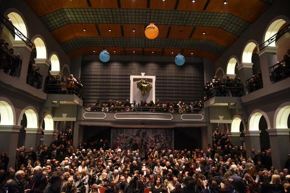 Πάτρα - Πλήθος κόσμου στην εκδήλωση του Γρηγόρη Αλεξόπουλου (φωτο)