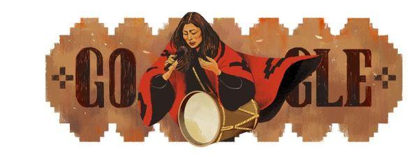 Την Μερσέδες Σόσα τιμά με το σημερινή της Doodle η Google