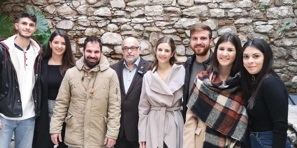 Πάτρα: Συζήτηση με τους νέους πραγματοποίησε ο Νίκος Τζανάκος