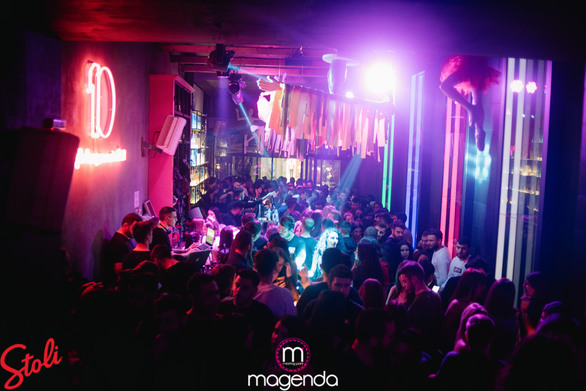 Greek night at Magenda 03-02-19