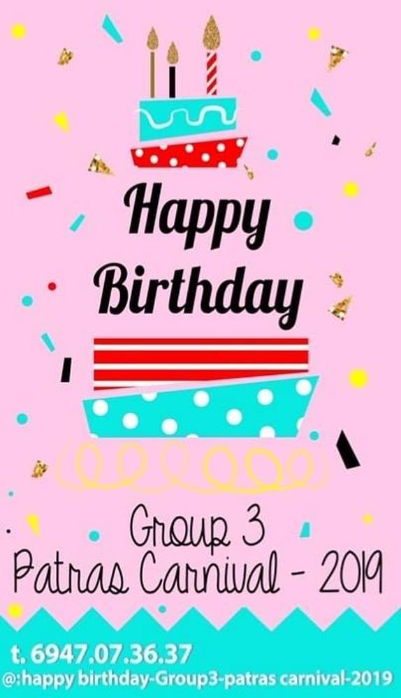 Group 3: Happy Birthday