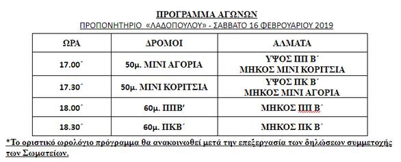 Πάτρα: Προπονητική Ημερίδα Κλειστού Στίβου απο τον ΣΕΓΑΣ Β. Πελοποννήσου