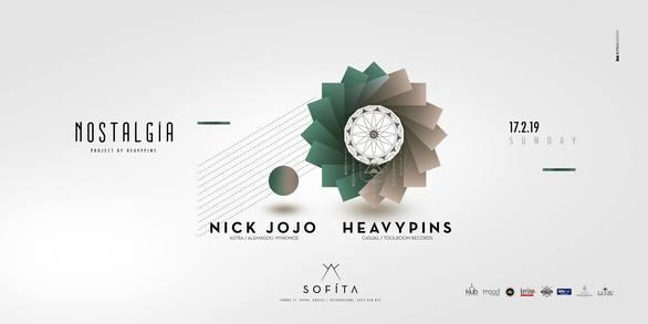 "Nostalgia #2 by Heavy Pins & Guest ""Nick Jojo"" at Sofita Bar"