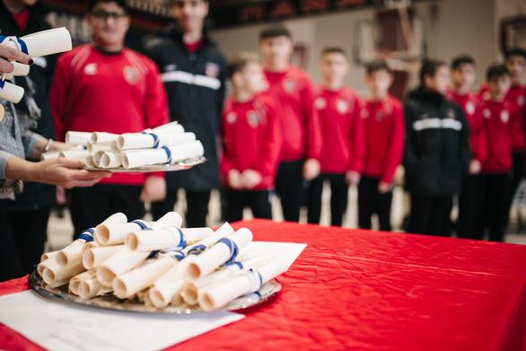 Βραβεύσεις, χαμόγελα και κόσμος στην κοπή της πίτας της Παναχαϊκής (pics)