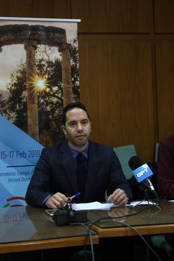 «Στόχος μας να ενώσουμε όλους τους Πελοποννήσιους για να μπούμε σε τροχιά ανάπτυξης», τόνισε ο πρόεδρος του Olympia Forum-1ου Αναπτυξιακού Συνεδρίου, Ελευθ. Βαρουξής