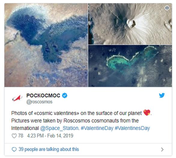 Ρώσοι κοσμοναύτες έστειλαν... καρδούλες από το διάστημα