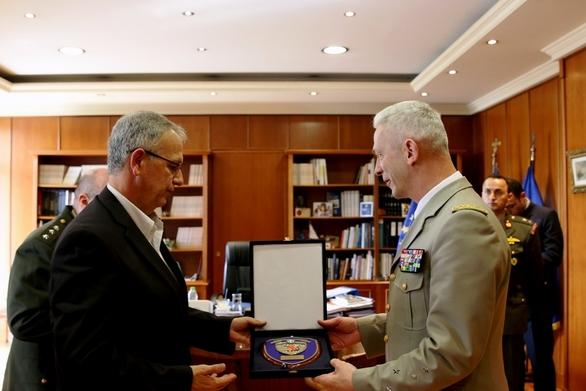 Ο Παναγιώτης Ρήγας συναντήθηκε με τον Αρχηγό του Γενικού Επιτελείου ΕΔ της Γαλλίας!