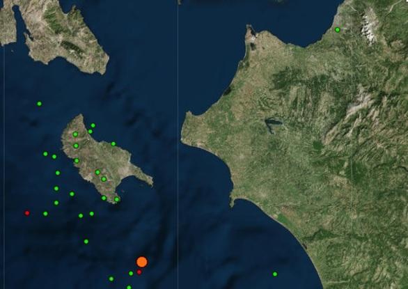 Ζάκυνθος: Nέο διπλό χτύπημα του Εγκέλαδου με 4,3 και 3.0 Ρίχτερ
