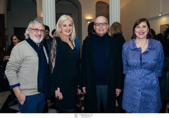 Έκθεση Ψηφιδωτού της Όλγας Γουλανδρή και του Giulio Menossi στο Ιταλικό Μορφωτικό Ινστιτούτο (φωτο)