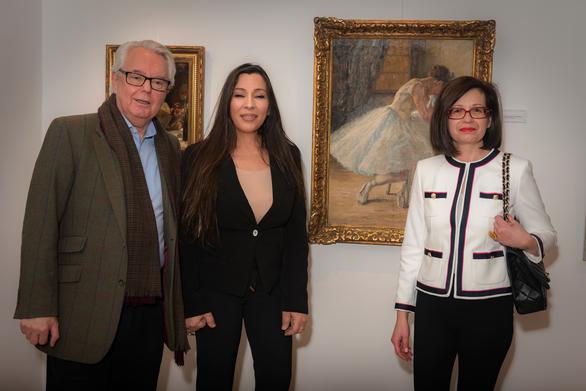 Με επιτυχία η έκθεση ζωγραφικής των Θάλειας Φλωρά Καραβία και Σοφίας Λασκαρίδου (φωτο)