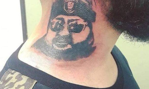 Το συγκλονιστικό τατουάζ με τον πιστό οπαδό της Παναχαϊκής Παναγιώτη Κωστόπουλο