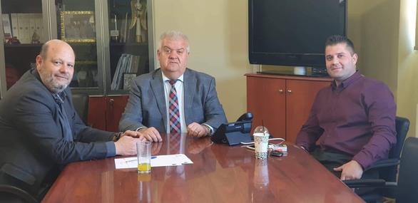 Στην Δυτική Αχαΐα ο βουλευτής του ΣΥΡΙΖΑ Ανδρέας Ριζούλης (φωτο)