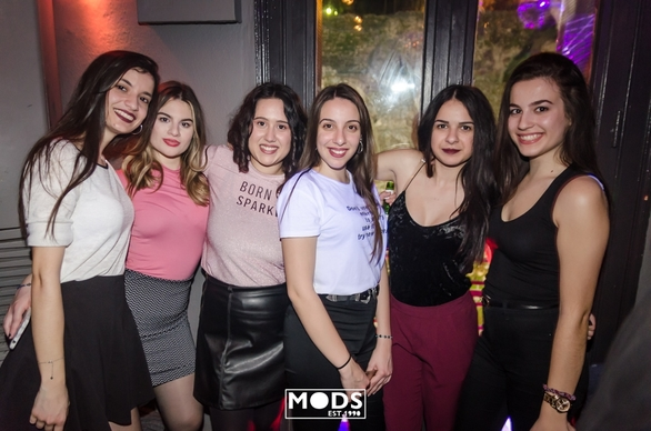 Trash Party at Mods Club 20-02-19