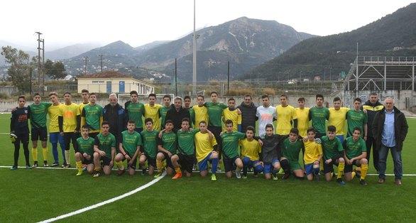 Πάτρα: Παραδόθηκε στη νεολαία γήπεδο του Πετρωτού από τον Κ. Πελετίδη (φωτο)