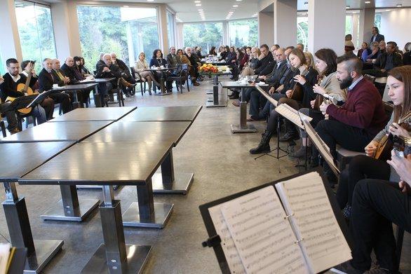 """Πάτρα - Σε ένα όμορφο κλίμα έκοψε την πίτα του ο Σύλλογος Φίλων της Ορχήστρας """"Θανάσης Τσιπινάκης"""" (φωτο)"""