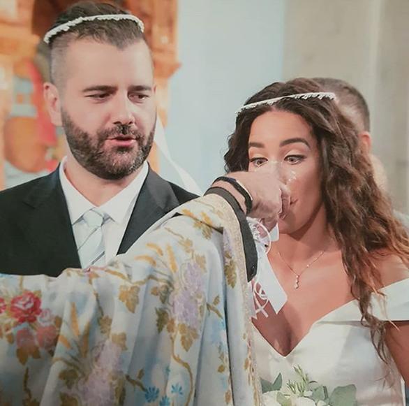 Η Κατερίνα Στικούδη δημοσίευσε μια φωτογραφία από τον γάμο της