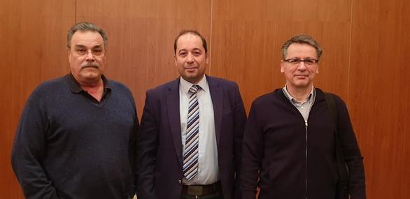 """Απ. Κατσιφάρας: """"Πετύχαμε την ένταξη νέων έργων 10 εκατομμυρίων ευρώ στο INTERREG""""(φωτο)"""