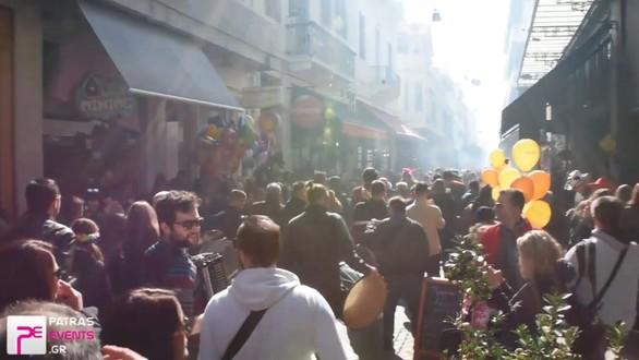 Οι μπάντες με τα χάλκινα πνευστά ξεσήκωσαν την Πάτρα (pics+video)