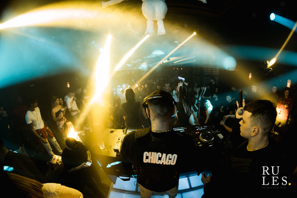 Chicago The Party at Rules Club 27-02-19
