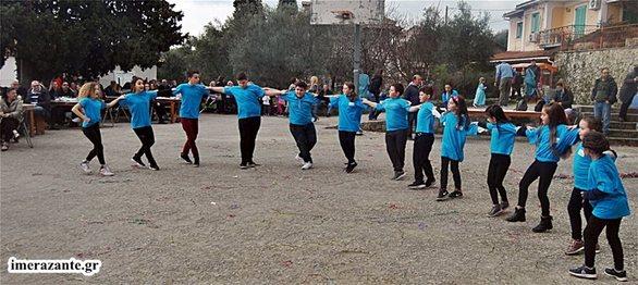 Ζάκυνθος: Γιόρτασαν τις «γκλαούνες» (φωτο)