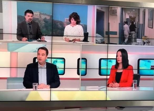 """Ο Θανάσης Παπαθανάσης βρέθηκε στην εκπομπή της ΕΡΤ """"Μαζί το Σαββατοκύριακο"""""""