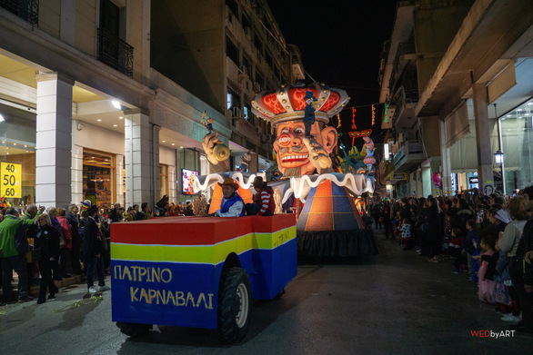 Το θαυμασμό των θεατών, προκάλεσαν τα άρματα του Πατρινού Καρναβαλιού 2019! (φωτο)
