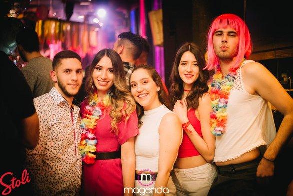 Καρναβαλικός χαμός στο Magenda για το Rainbow Code party (φωτο)