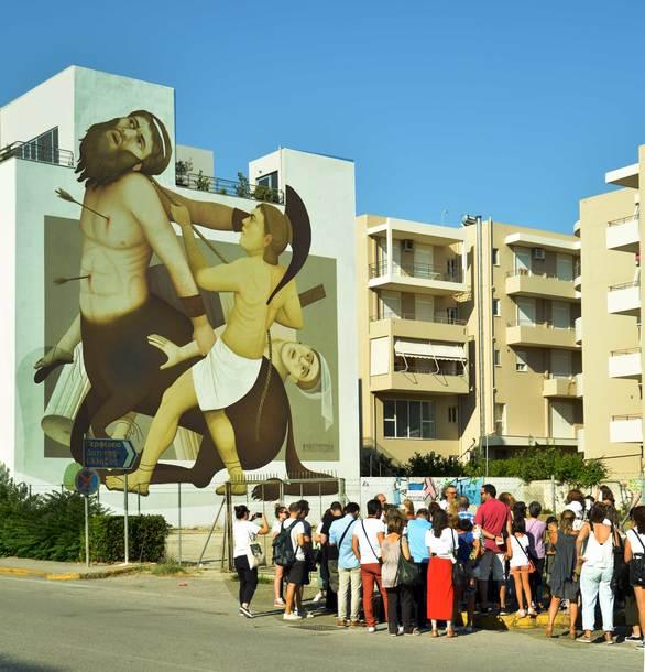 Το 4ο Διεθνές Street Art Festival Patras αναμένεται ακόμα πιο πολύχρωμο