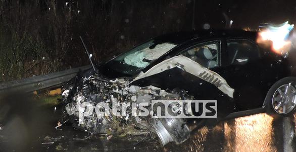 Ηλεία: Σφοδρή σύγκρουση δύο οχημάτων - Ένας τραυματίας (φωτο)