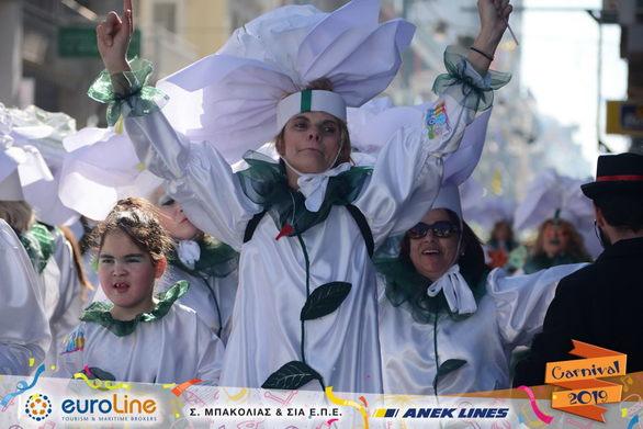 """Πατρινό Καρναβάλι 2019 - Το γκρουπ 149 """"άνθισε"""" στις καρδιές μας (pics)"""